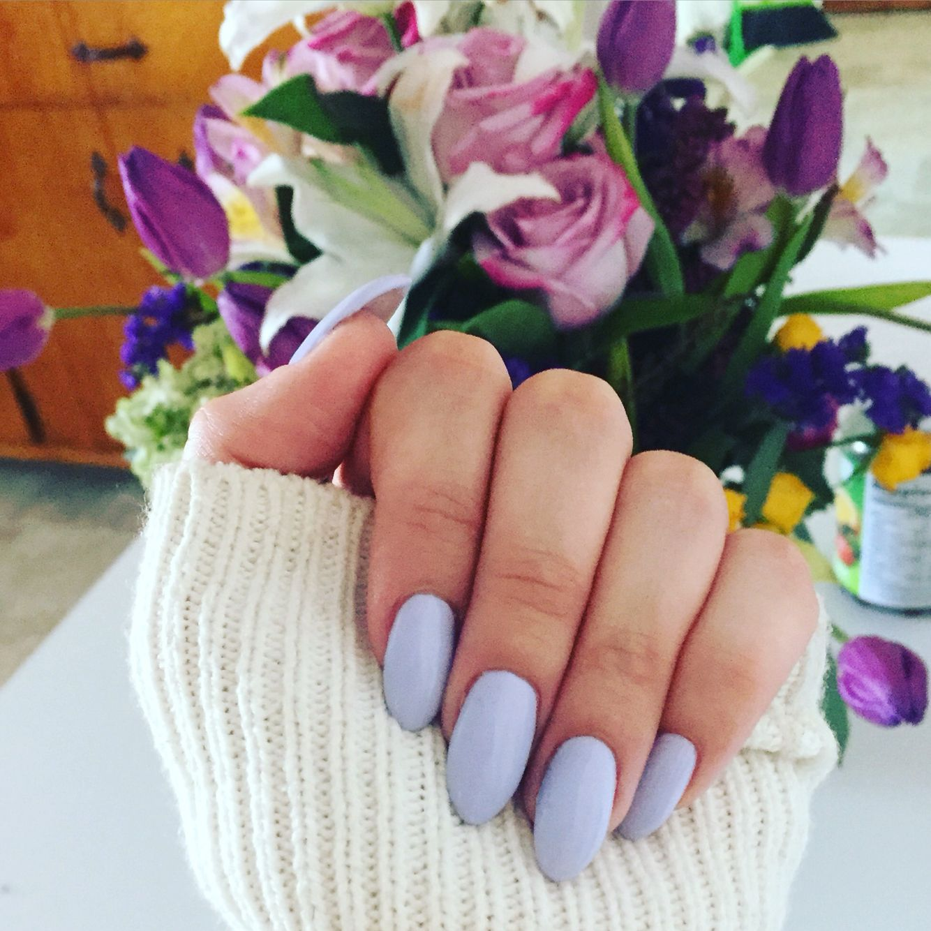 Perrywinkle nails for spring