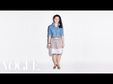 MELI MIRÁ QUE HERMOSA LA POLLERA.  Old Navy Popover Denim Tunic - Jeanius: Chloe Malle - Vogue - YouTube