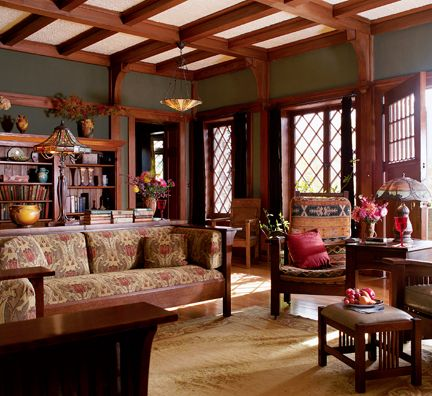 Warm Earthy Arts Crafts Style Mission Style Furniture