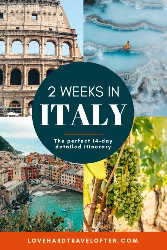 Photo of 2 weeks in Italy: UNFORGETTABLE 14 day itinerary of Italy's best spots!