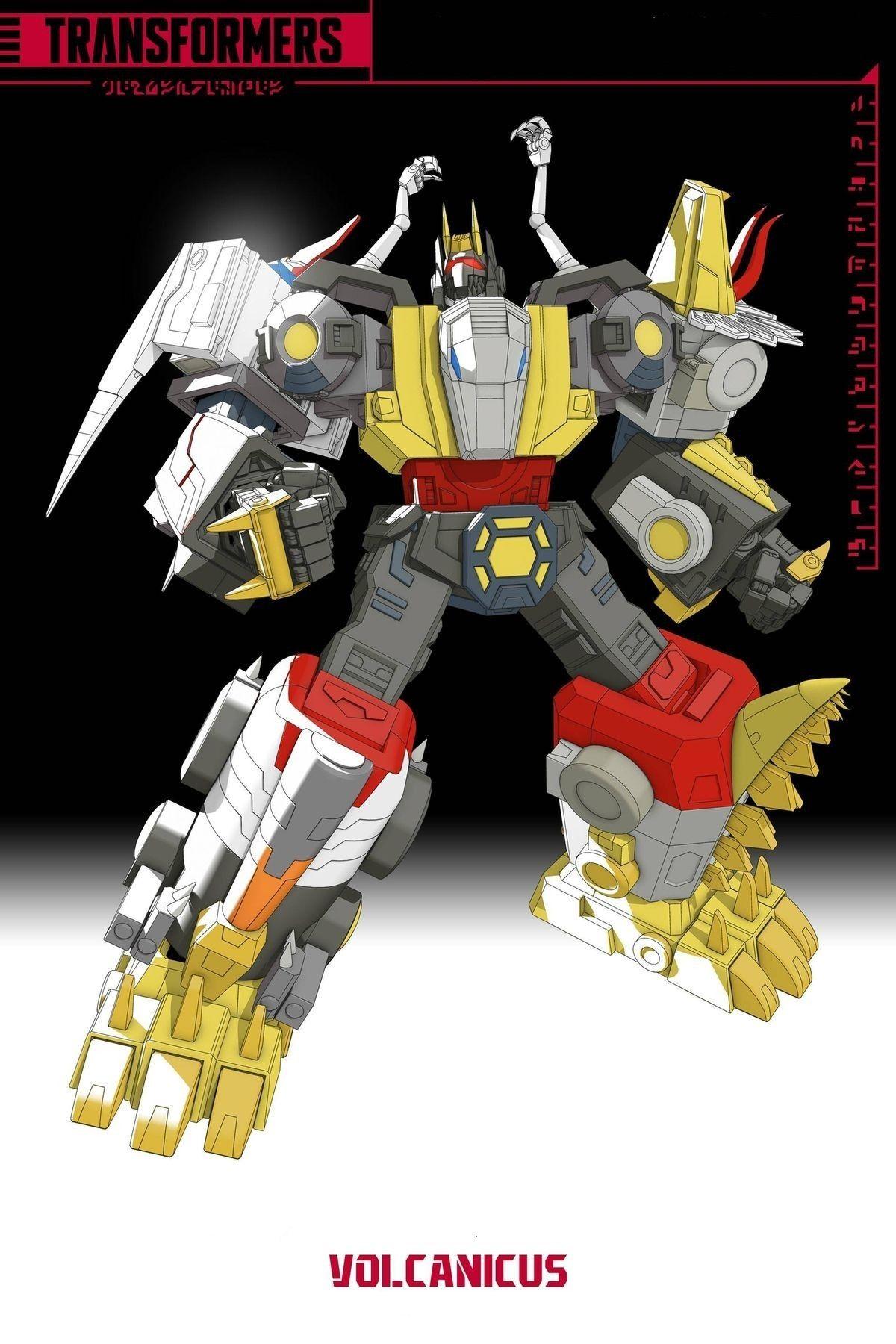 Volcanicus Transformers Transformers Artwork Transformers Design