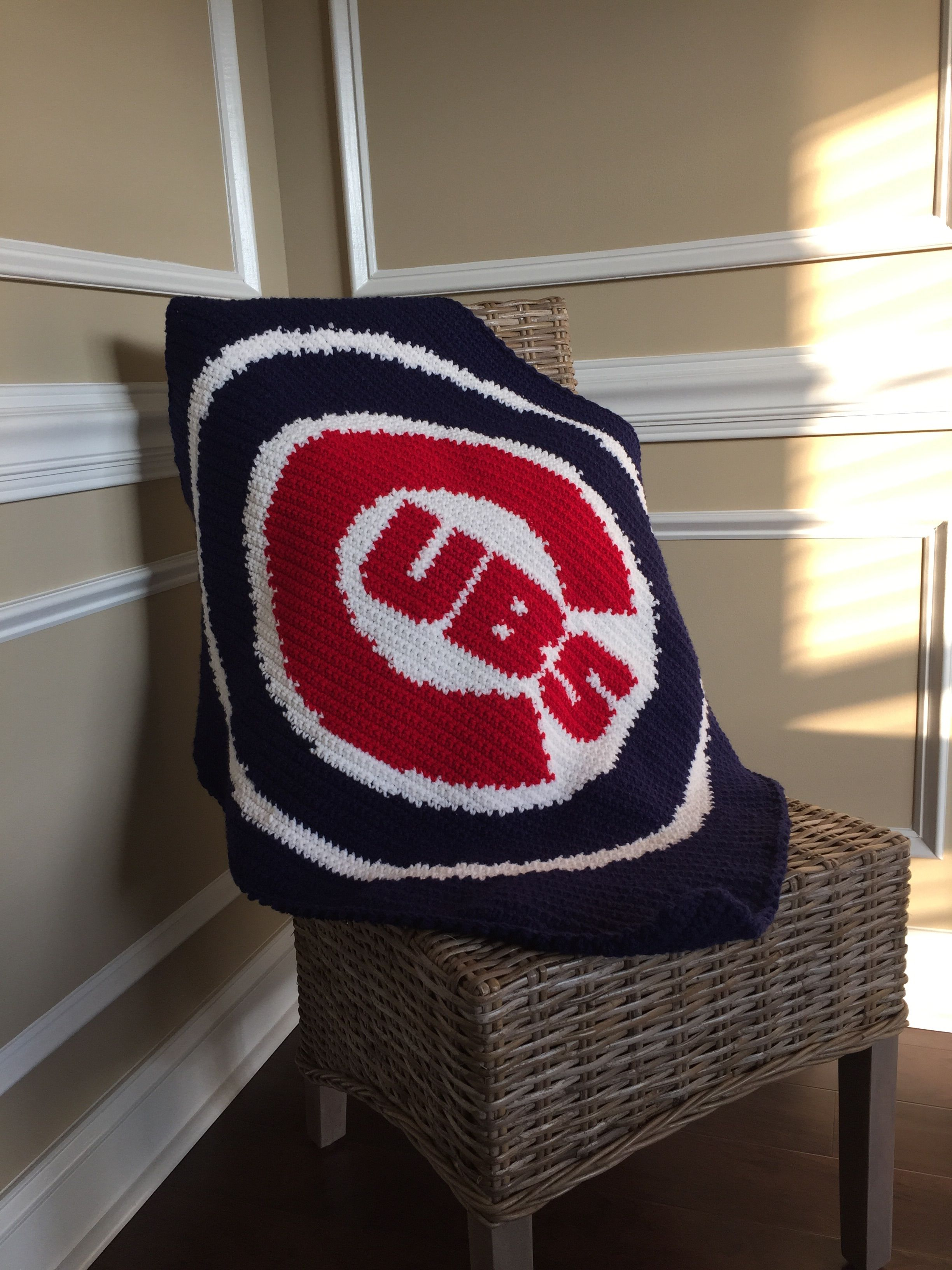Baby Chicago Cubs Blanket