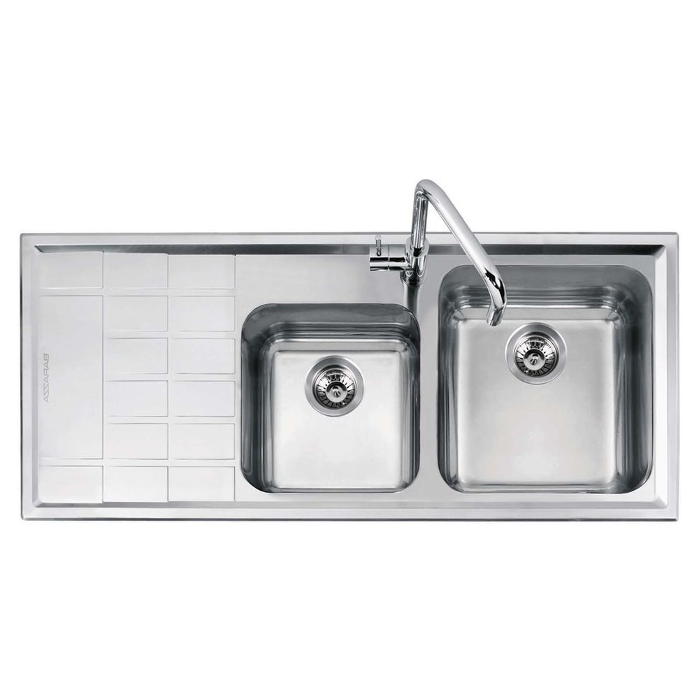 Abey Barazza Level Inset Sink 1.75 Bowl Right - Masters Home ...