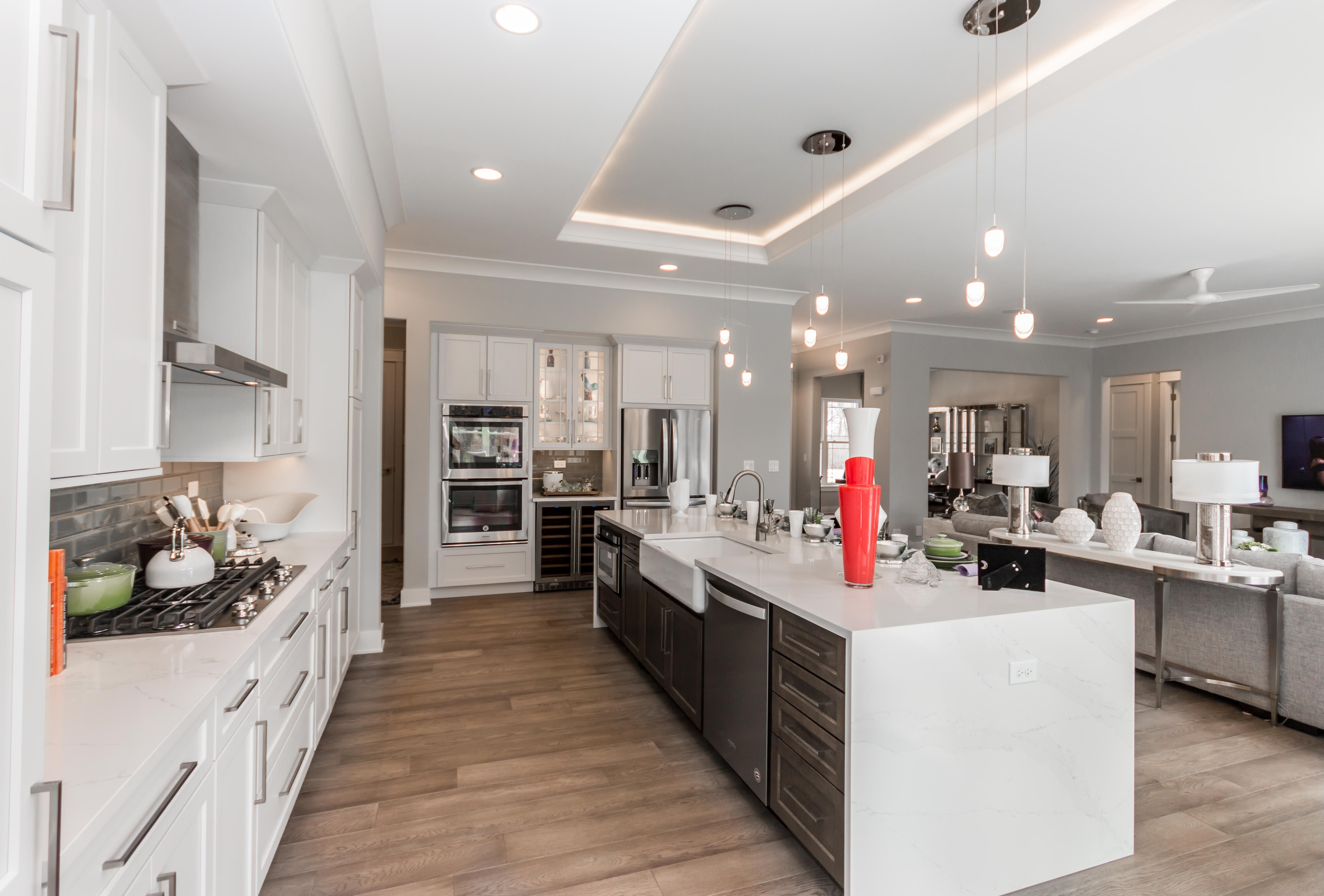 Beautifully Designed Kitchen In This Open Concept Ranch Home Click