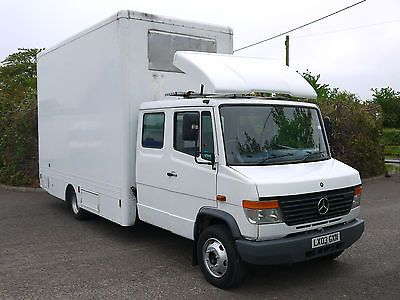 Mercedes Vario 814d Box Van Luton Removals Hgv Storage Low Mileage Truck Van Used Mercedes Benz Van For Sale Mercedes