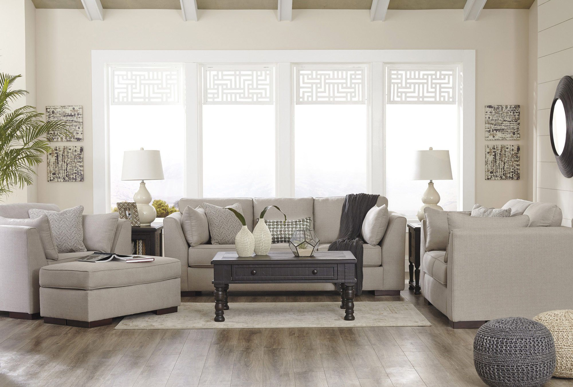 Lanier Living Room Sofa Set by Ashley - Home Gallery Stores | Living ...