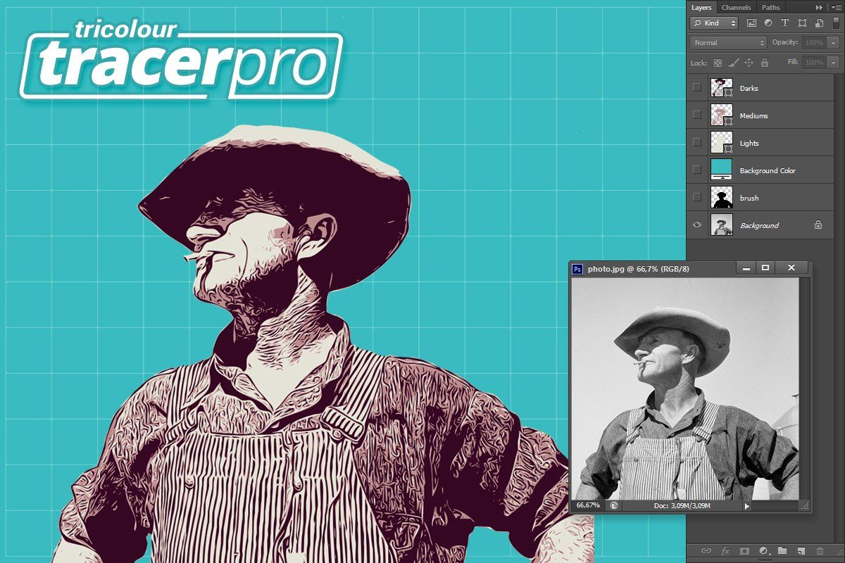 Ad Tracer Pro by g design on creativemarket. TracerPro