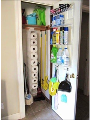 Cleaning Supply Closet
