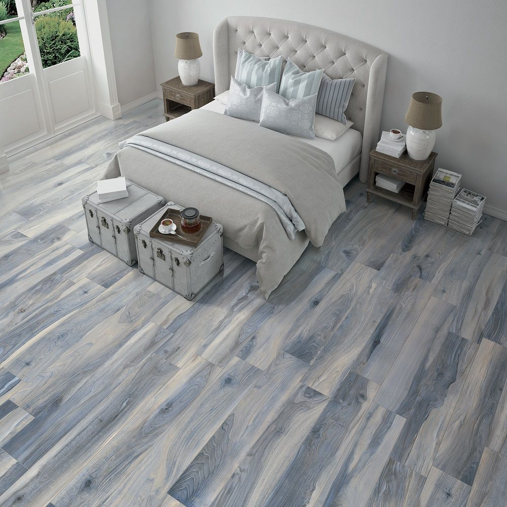 Blue Horizon Mowhawk Petrified Wood Tile Picture