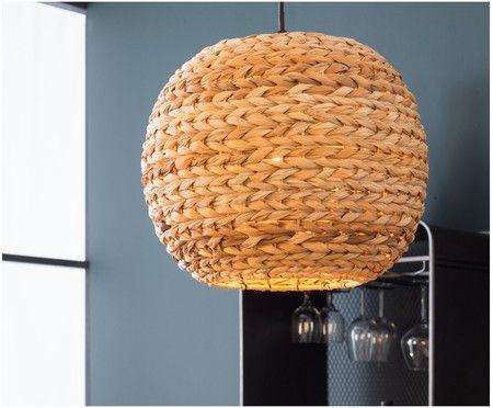Lampenschirm Schlafzimmer ~ Hängeleuchte rattan pendelleuchte lampenschirm rattan Ø cm