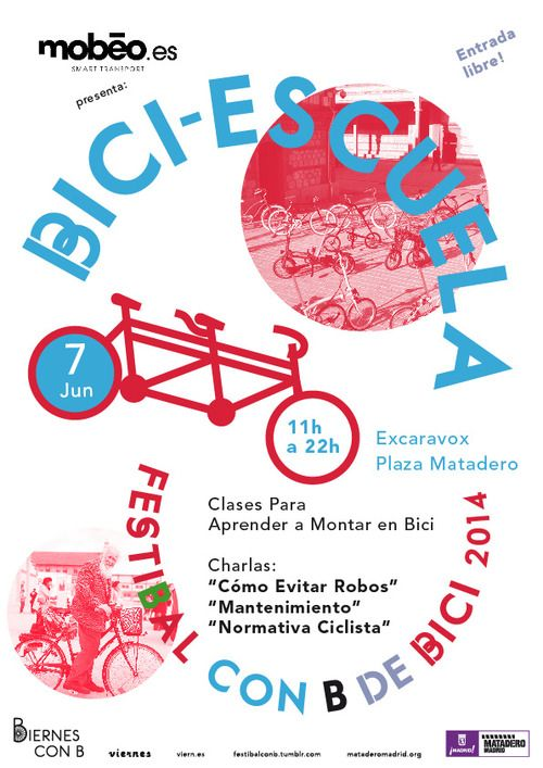 FetiBal con B de Bici. 7 June to 13 September at Matadero Madrid. http://www.bookstyle.net/en/barcelona-style/hotels-with-style/w-barcelona/21/0/66206