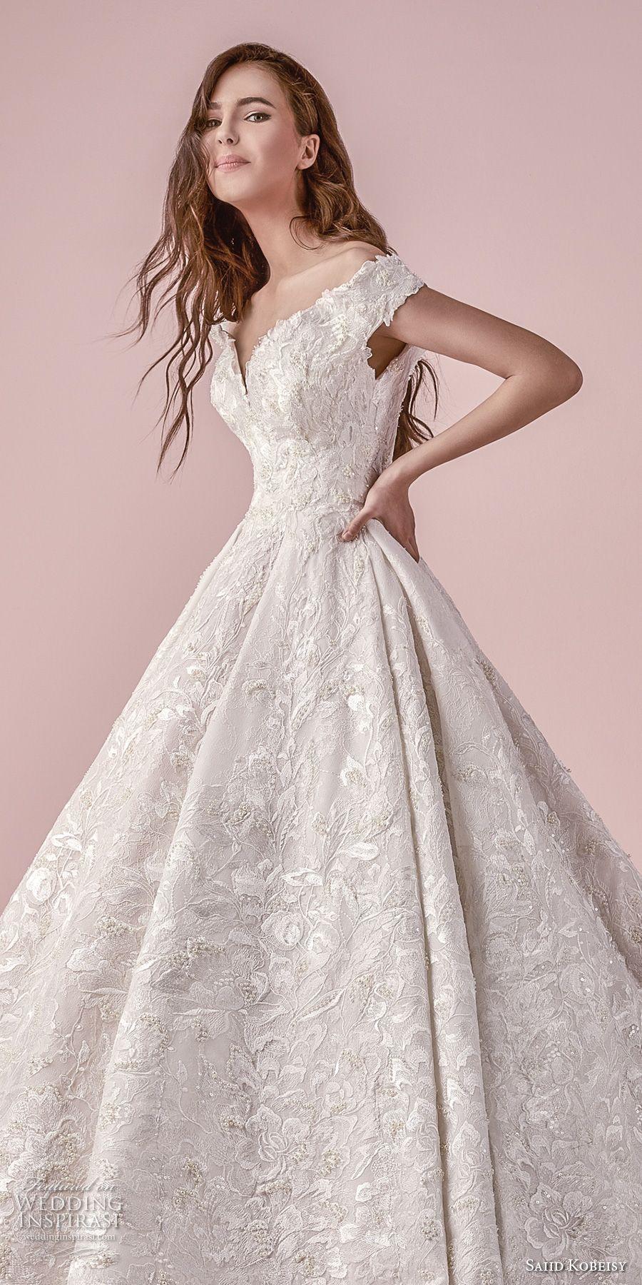 saiid kobeisy 2018 wedding dresses | wedding dress, princess and