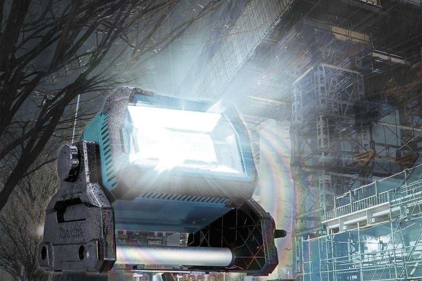 Makita Dml809 18v X2 Led Work Light 10 000 Lumens Ptr In 2020 Work Lights Led Work Light Led