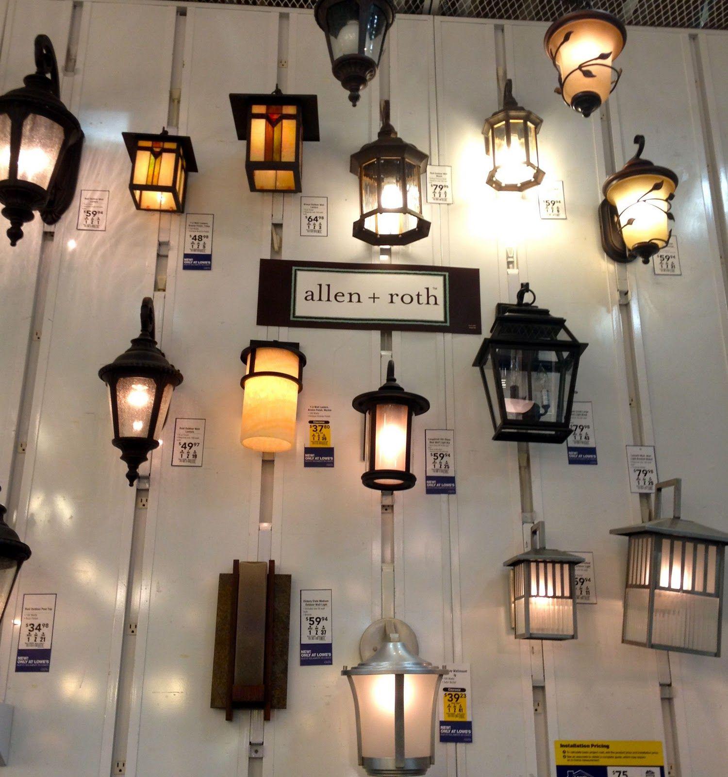 Allen And Roth Light Display Lighting