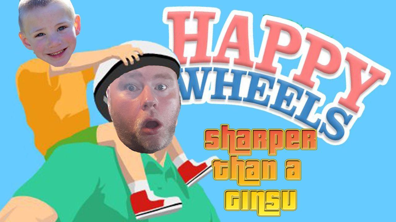 happy wheels sharper than a ginsu happy wheels unblocked pinterest wheels and gaming