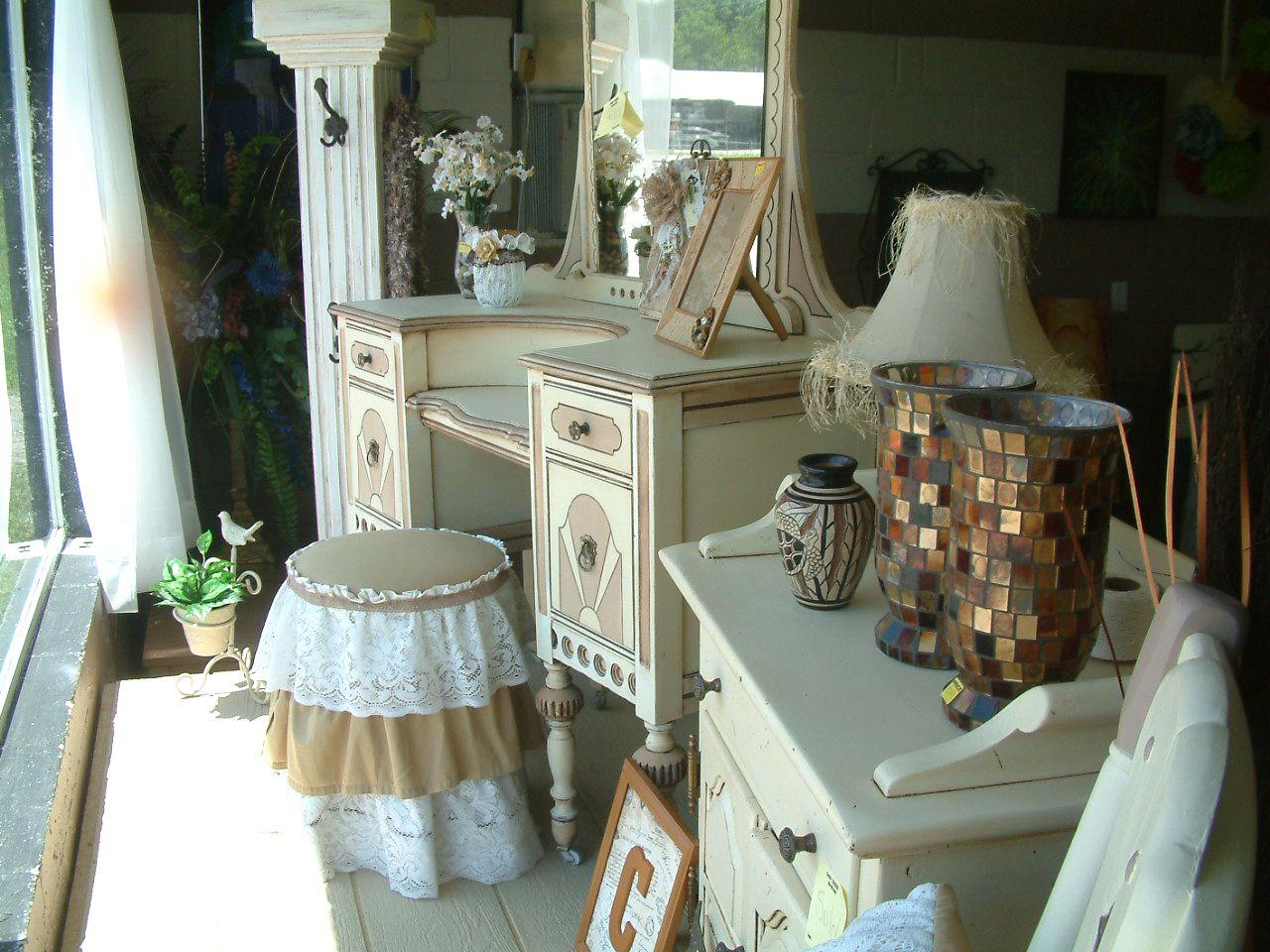 repurposed furniture store. Store Display Of Repurposed Furniture And Accents At Just Repurposed. A