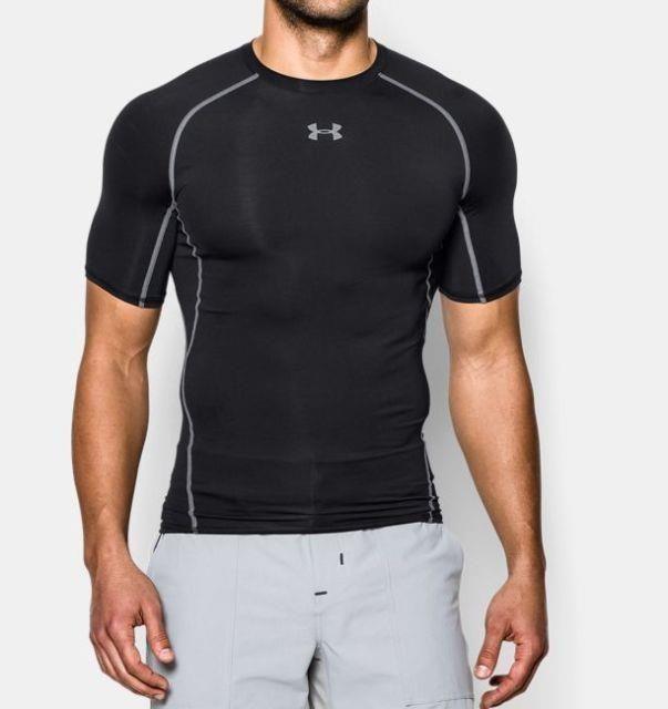 Under Armour Men/'s UA Heatgear ARMOUR Compression T Shirt 1257468 NEW