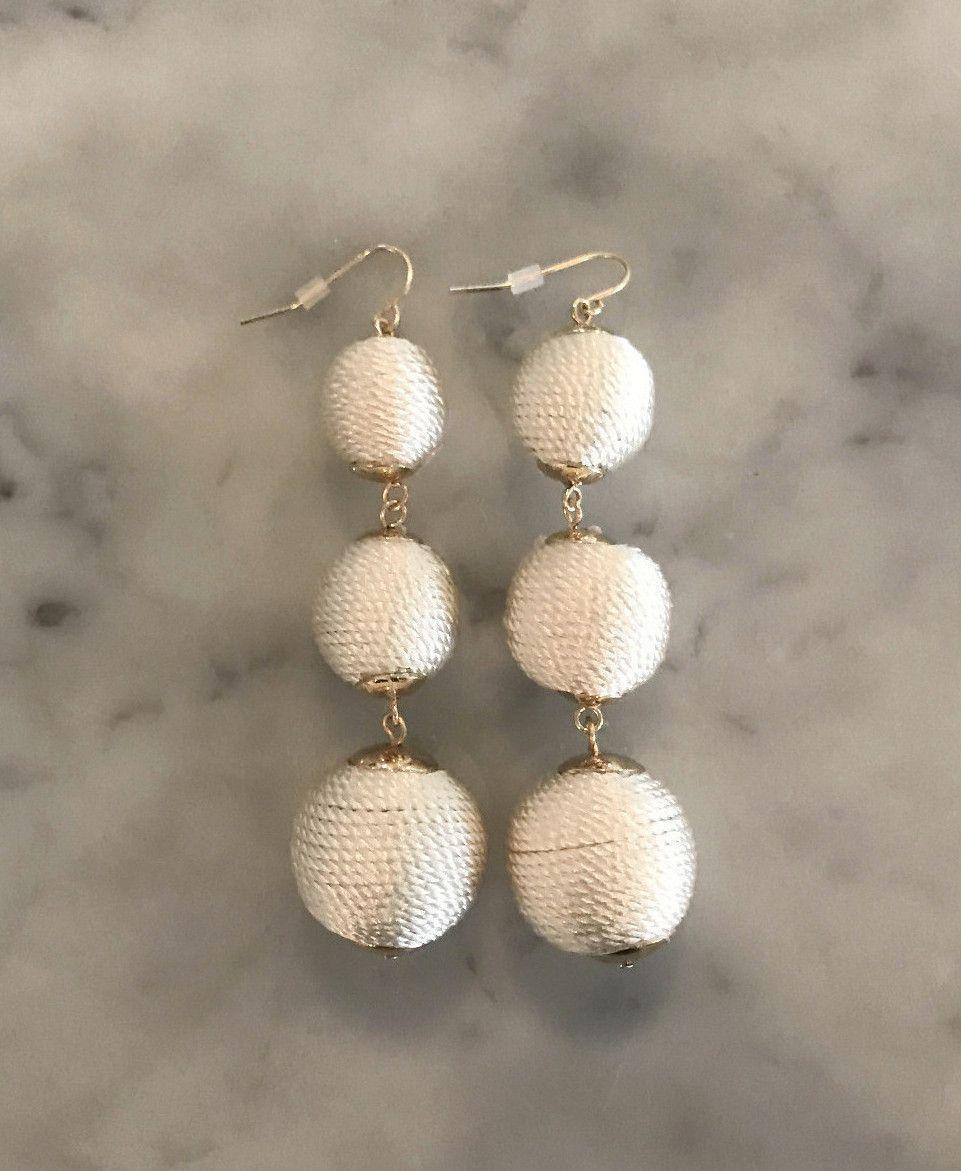 Gumdrop Earring - Cream