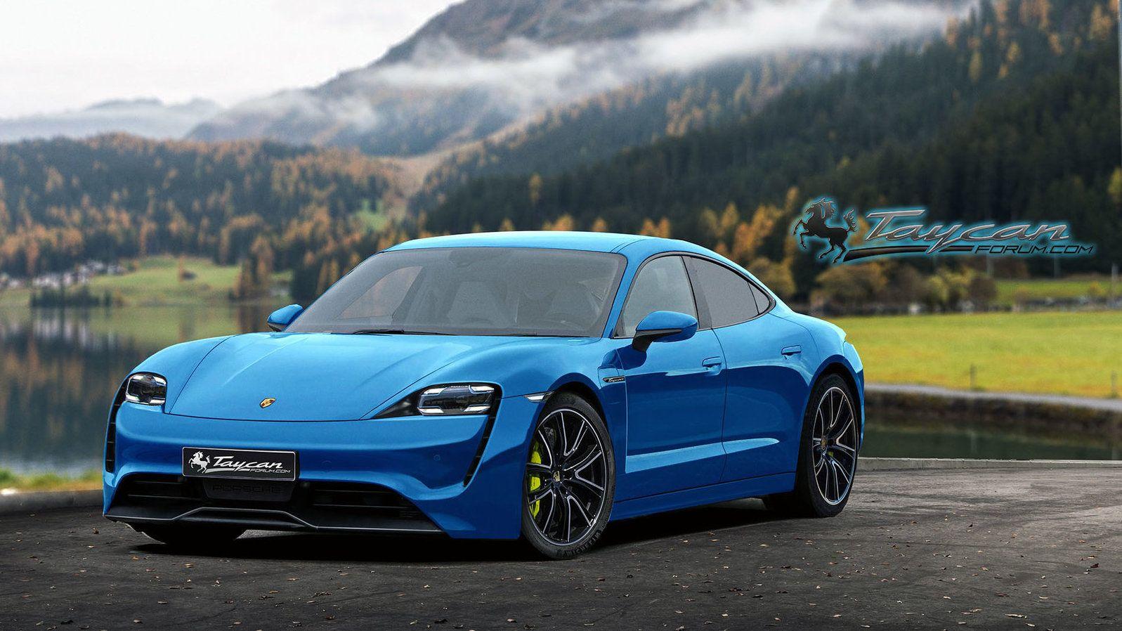 2020 Porsche Taycan EV Porsche taycan, Porsche, Concept cars