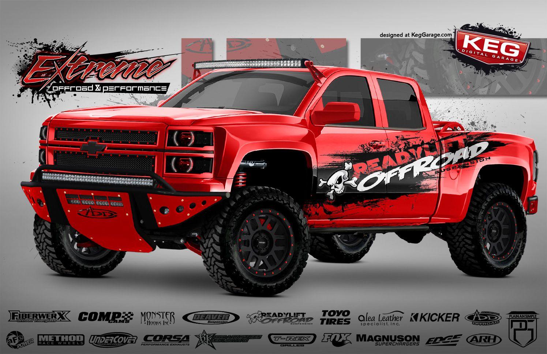 Extreme Chevrolet Silverado Http Keg Media Com Marketing