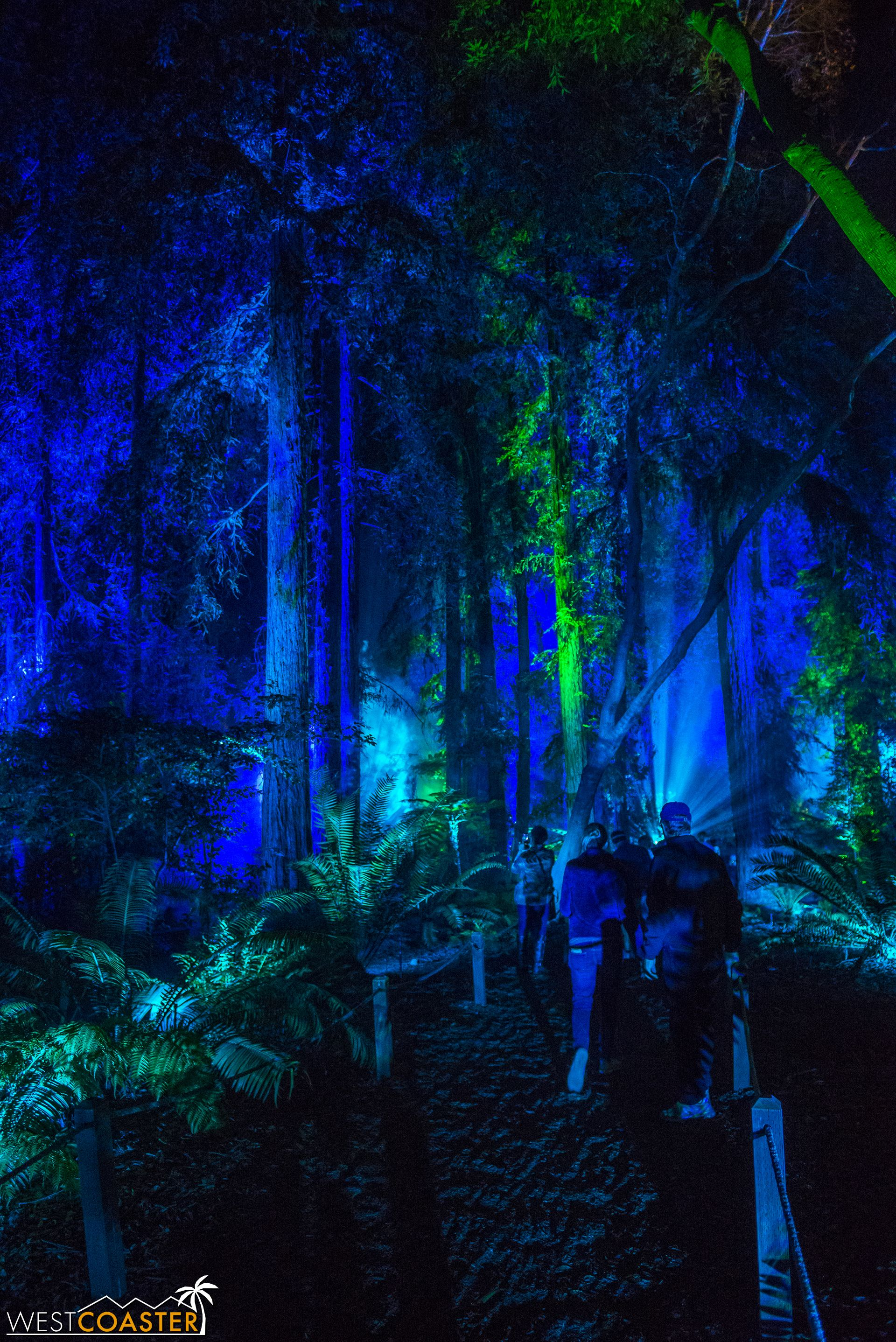 Descanso Gardens' Enchanted Forest of Light 2017 Review