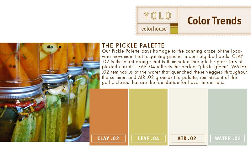 YOLO Colorhouse Pickle Palette - LOVE Water .2