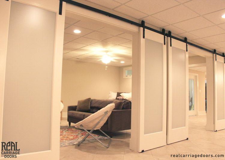 Interior Barn Doors ·  Cwd: For New Den Closet