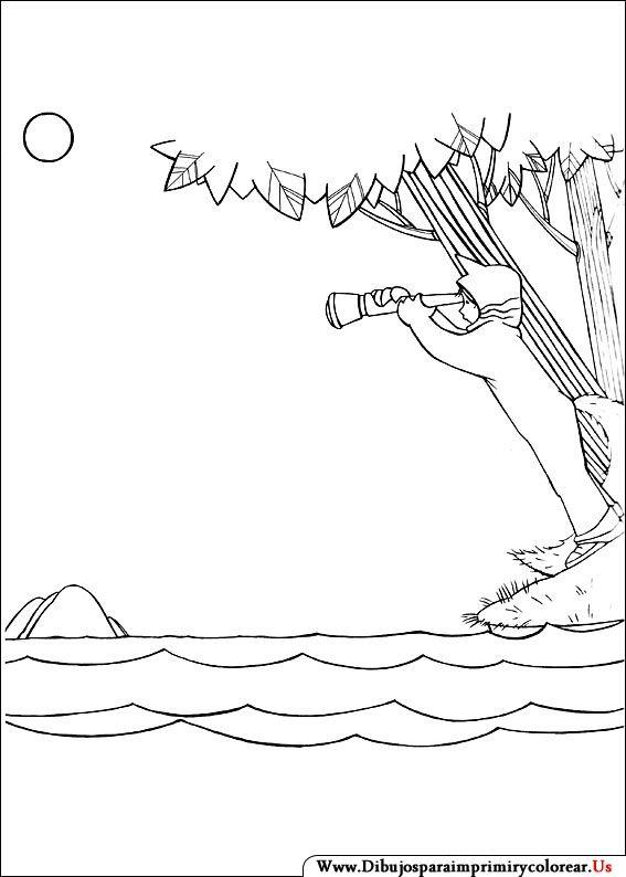 Dibujos De Donde Viven Los Monstruos Para Imprimir Y