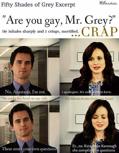 fifty shades of grey they are so perfect for the parts 50 shades