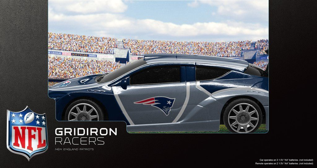 New England Patriots R/C Racecar Gridiron Dallas cowboys