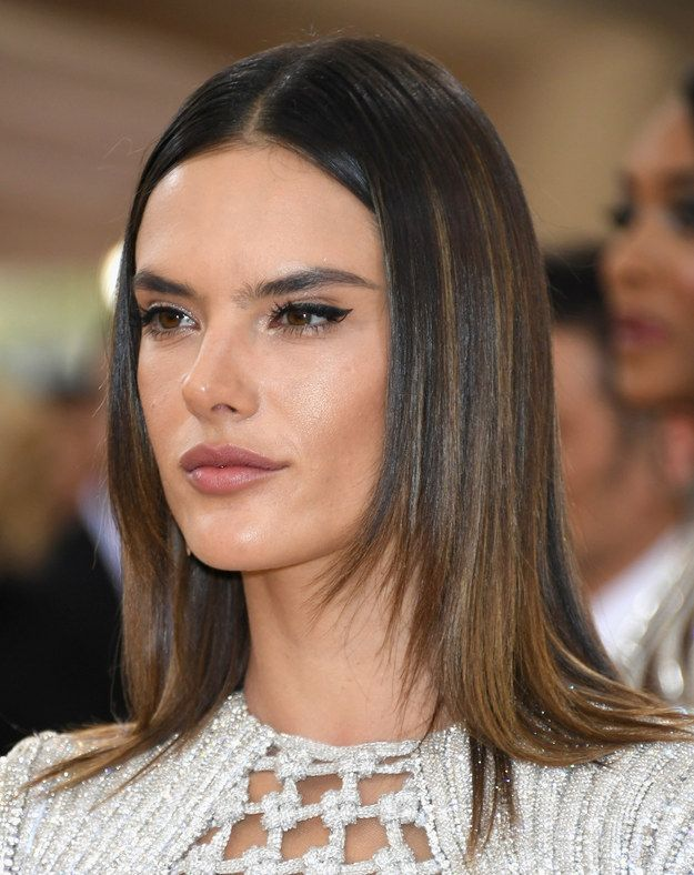 Alessandra Ambrosio Hair Color Cuts And Tutorials Pinterest