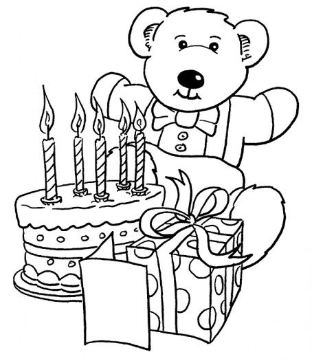 Cute And Funny Collection Of Teddy Bear Coloring Pages .