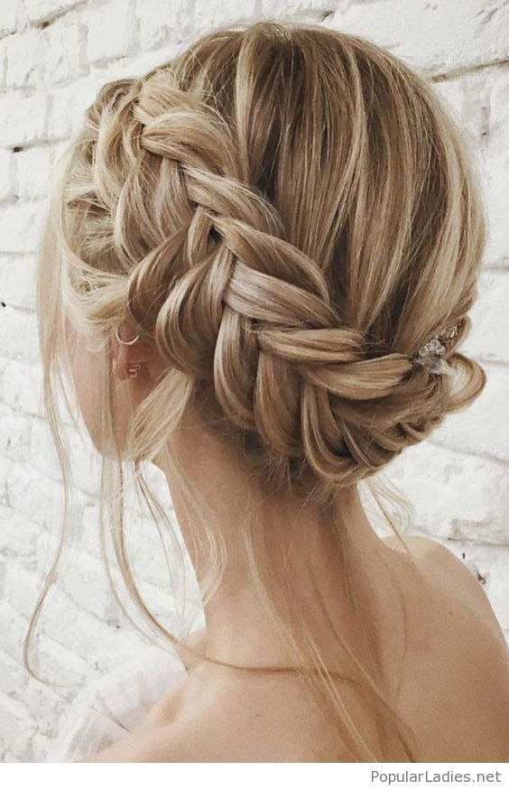 Amazing Bride Braid Style Braided Hairstyles Tutorials Braided