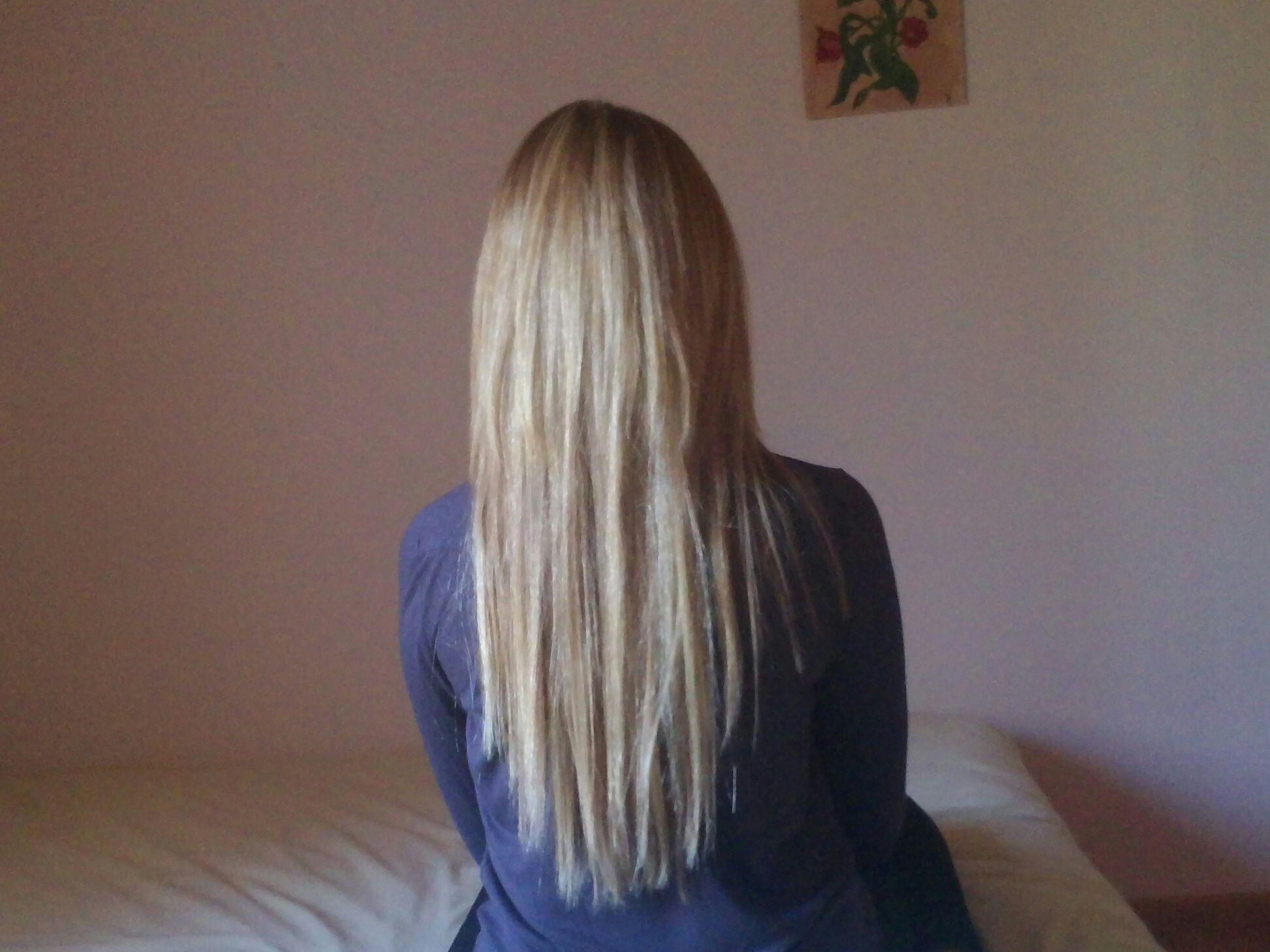 Top cheveux long de dos degrade cheveux long Pinterest