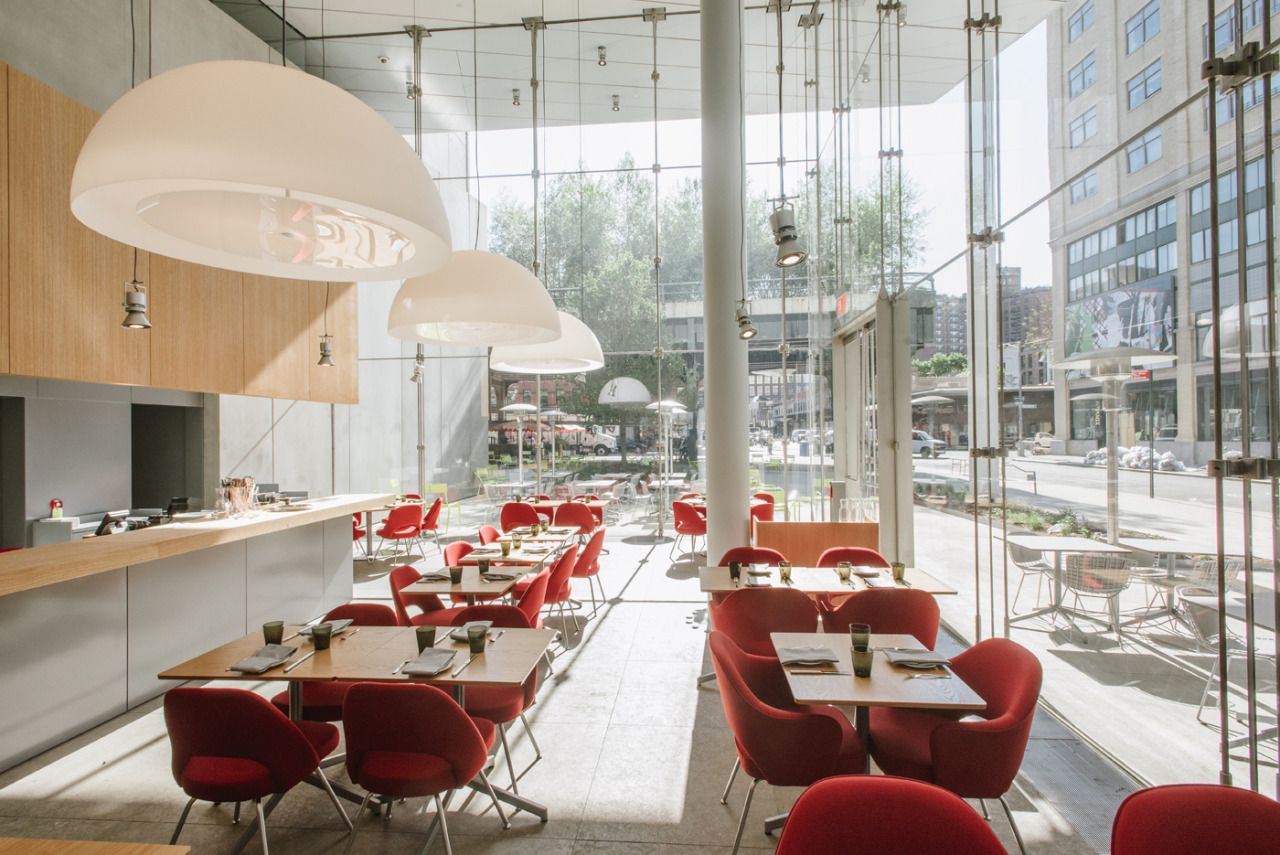 Unled And Studio Cafe By Danny Meyer At The Whitney Museum For