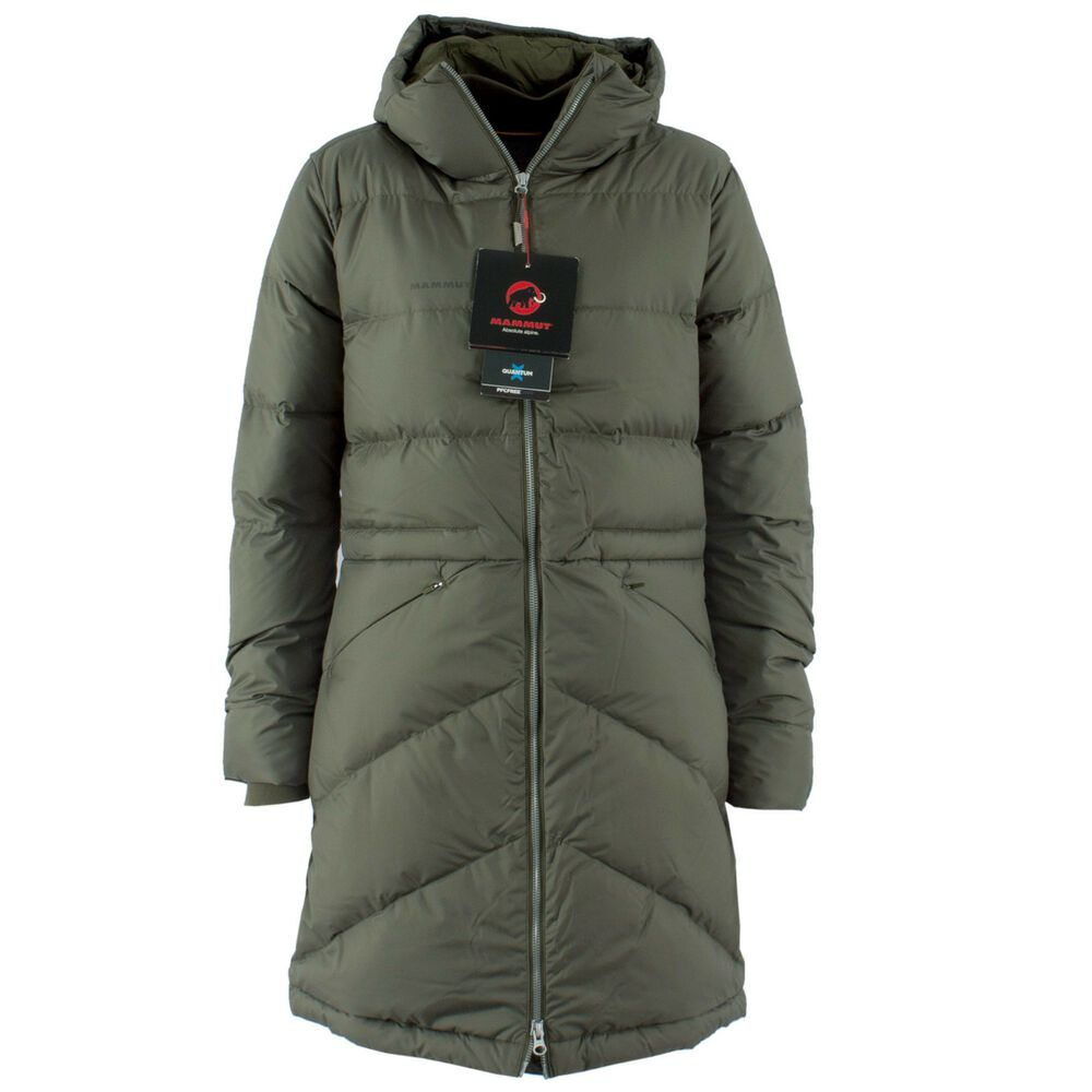 official photos 0478a 04502 MAMMUT Damen Steppjacke 1013-00200 Fedoz IN Hooded Iguana ...