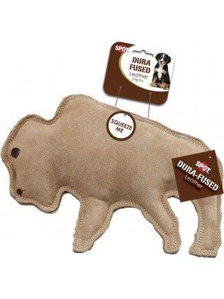 Spot Dura Fused Leather Jute Buffalo Cute Dog Toys Dog Toys