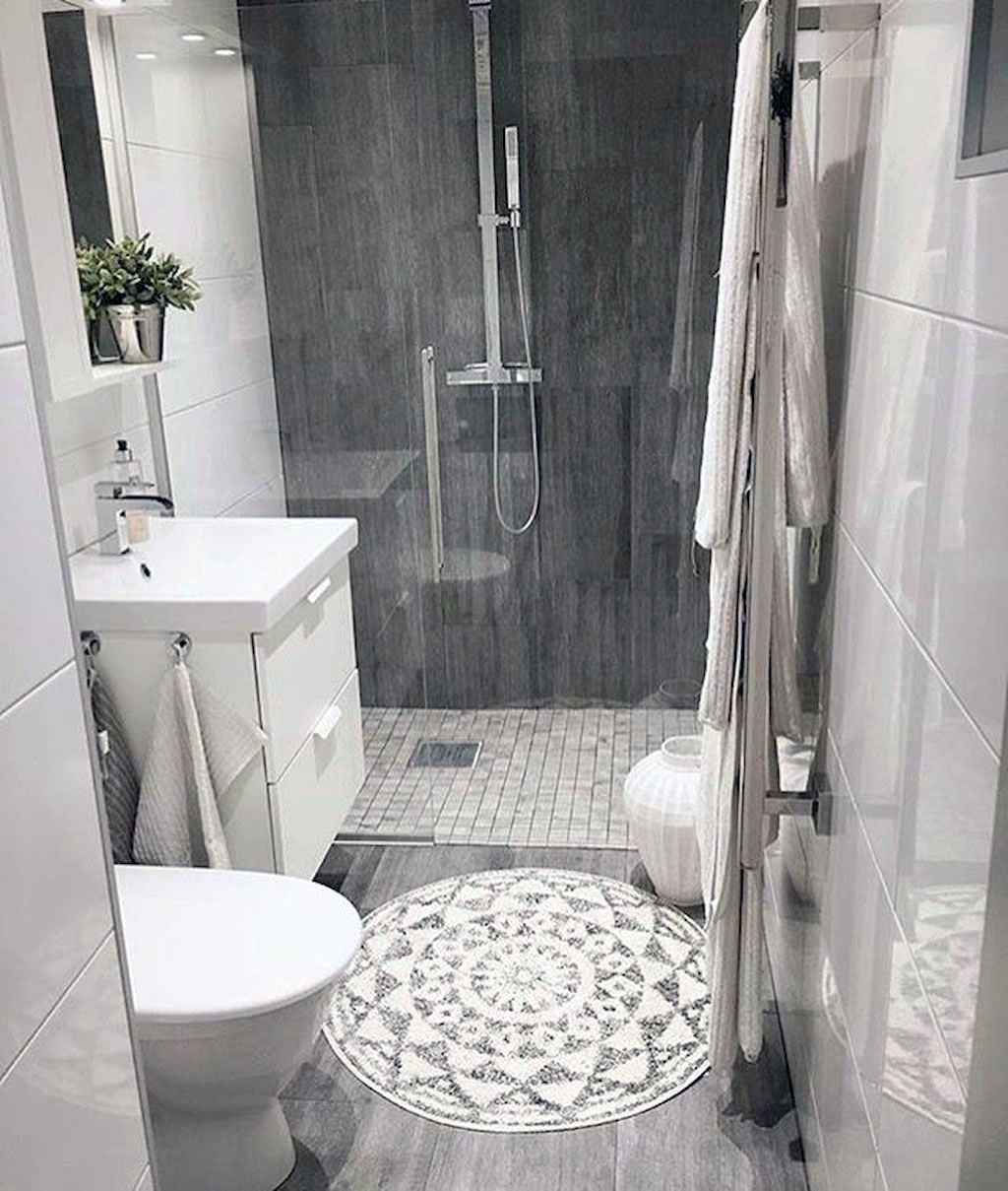 There Is Actually A Tiny Restroom Style Transformation And You Ll Passion These Rule Breaking Styles Small Bathroom Small Bathroom Decor Bathrooms Remodel