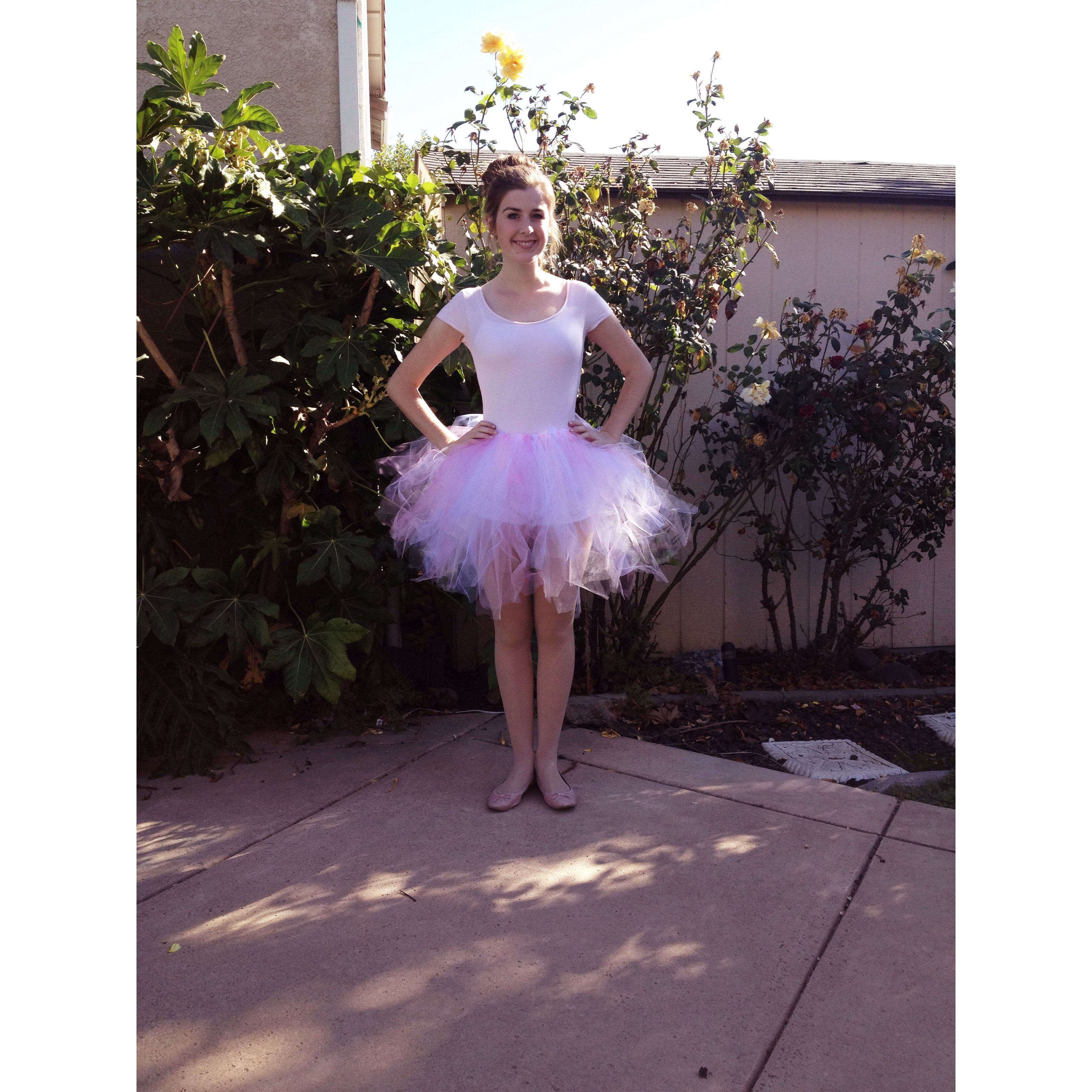 diy halloween costume for girlswomen ballerina tutu with tulle and ribbon band - Halloween Ballet Costumes