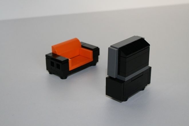 LEGO Ideas - Kebab & Smoothies