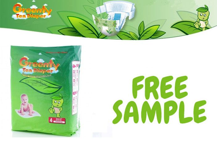 Request a Free Sample of Greenty Nappies for your little ones - sample request forms