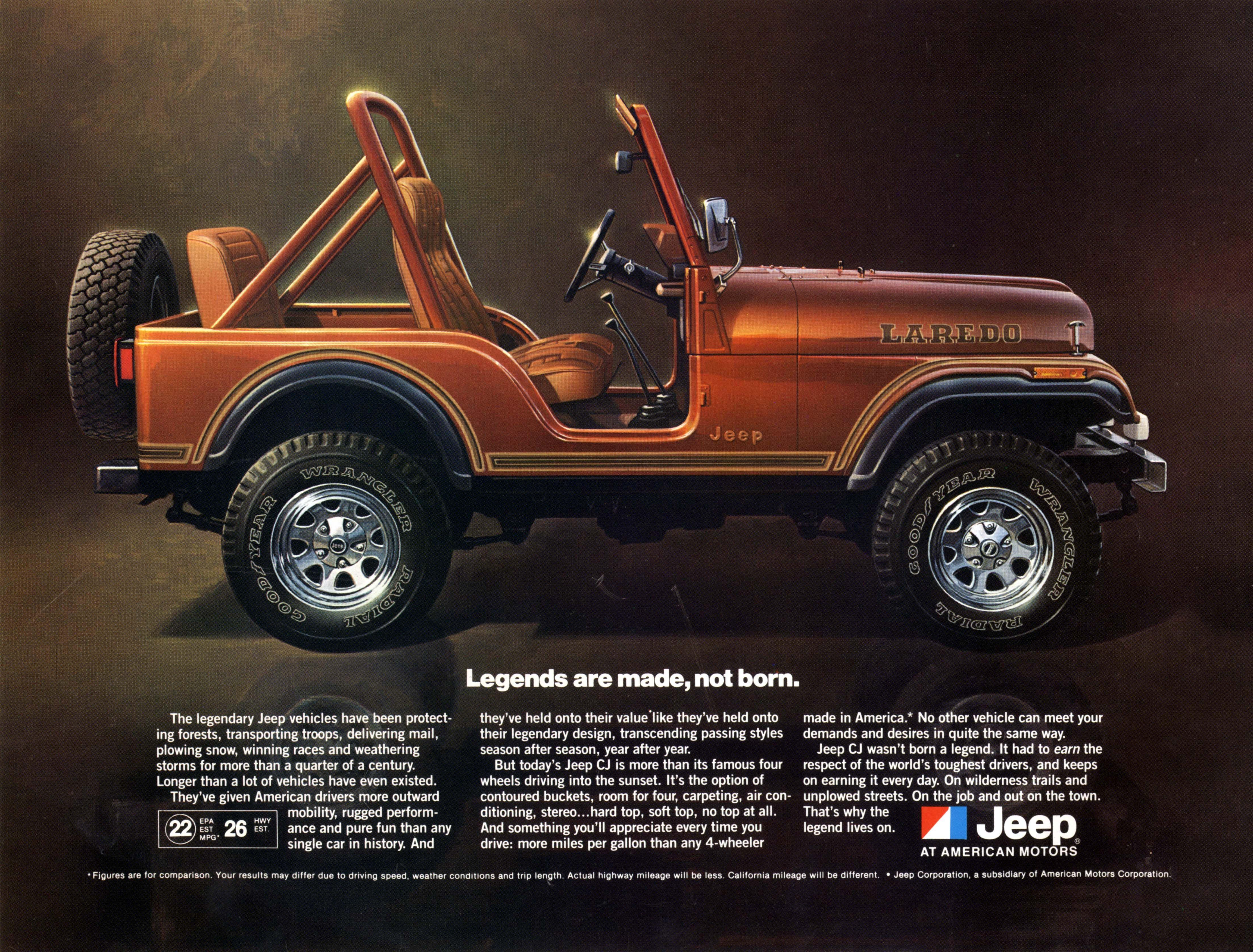 Jeep Heritage 1980–1986 Jeep CJ 5 LaredoJeep Heritage