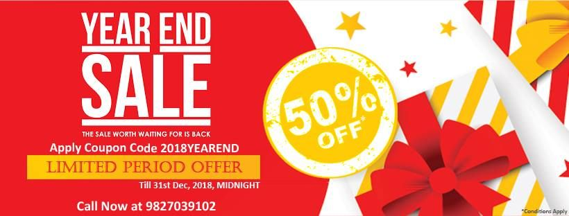 M Learning Year End Sale The Sale Worth Waiting For Is Live Now Get 50 Off On All Courses Hurry Up Call Now At 98270391 M Learning Worth The Wait Learning