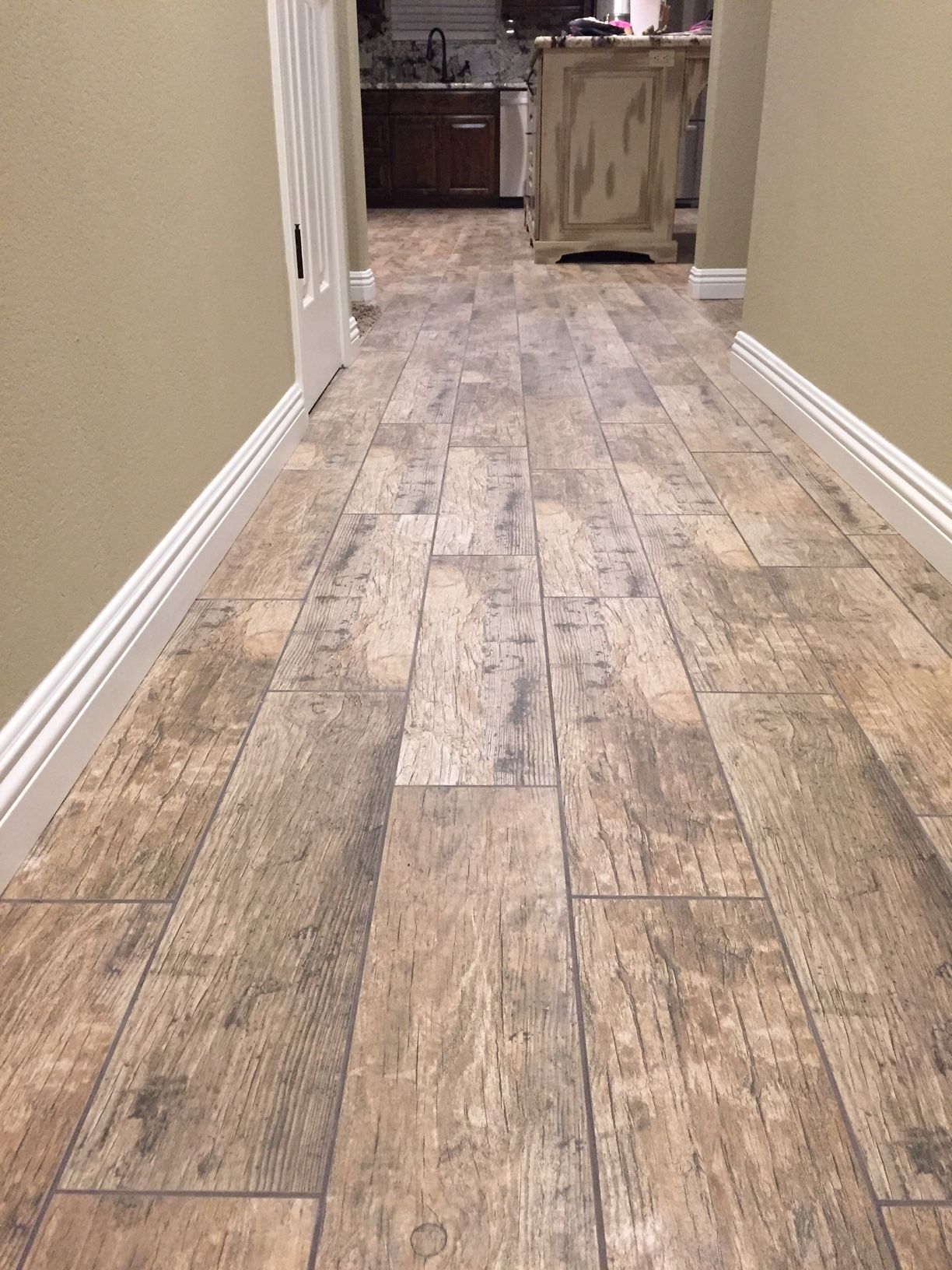 Cabot Porcelain Tile - Redwood Series | Wood tile floors ...