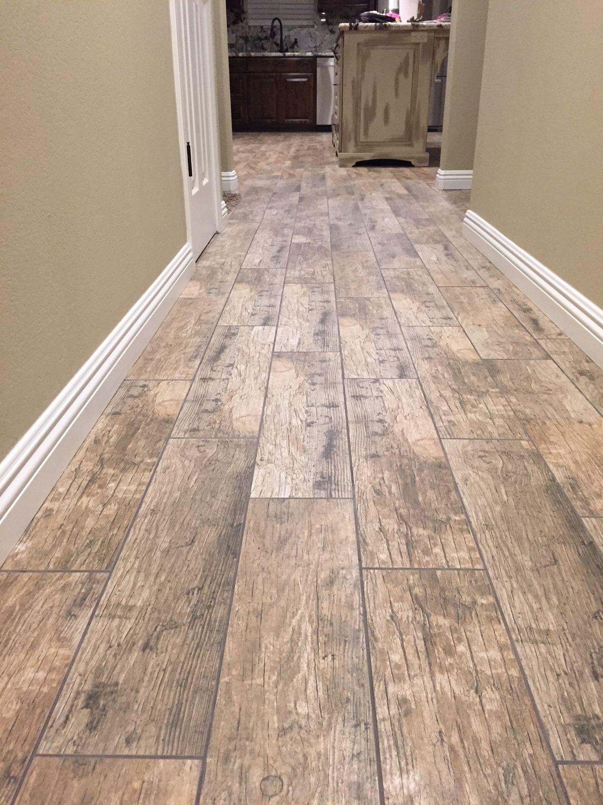 Cabot Porcelain Tile Redwood Series Wood tile floors