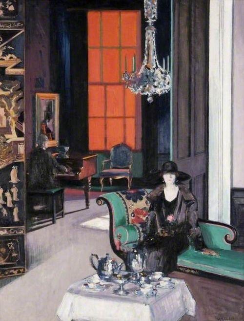 Francis Cadell - Interior: The Orange Blind (c.1927)