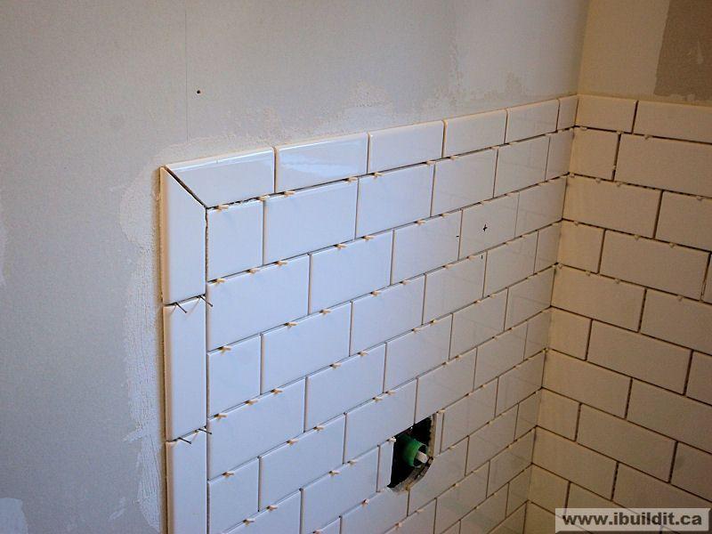 tile tub surround tile edge bullnose tile