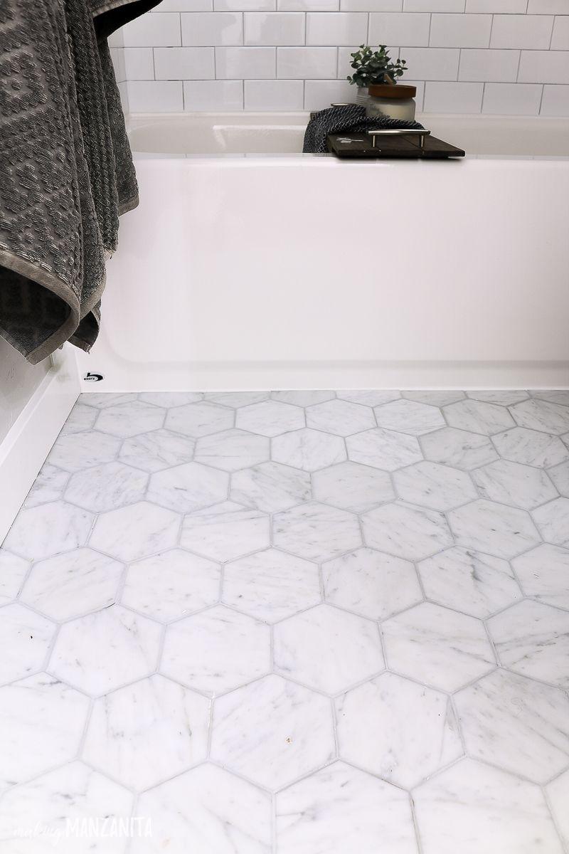Modern Farmhouse Bathroom Reveal With