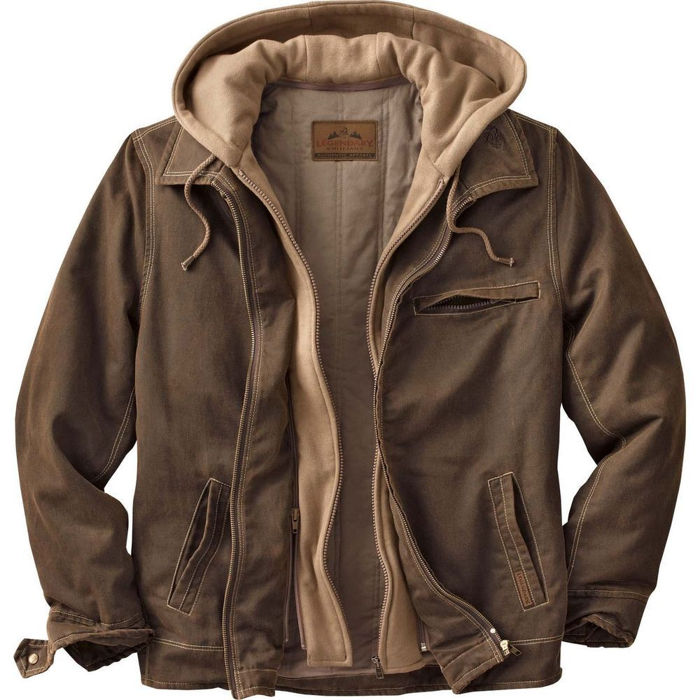 Legendary Whitetails Men S Rugged Brown Full Zip Dakota Jacket Mens Winter Fashion Mens Fashion Rugged Hunting Clothes