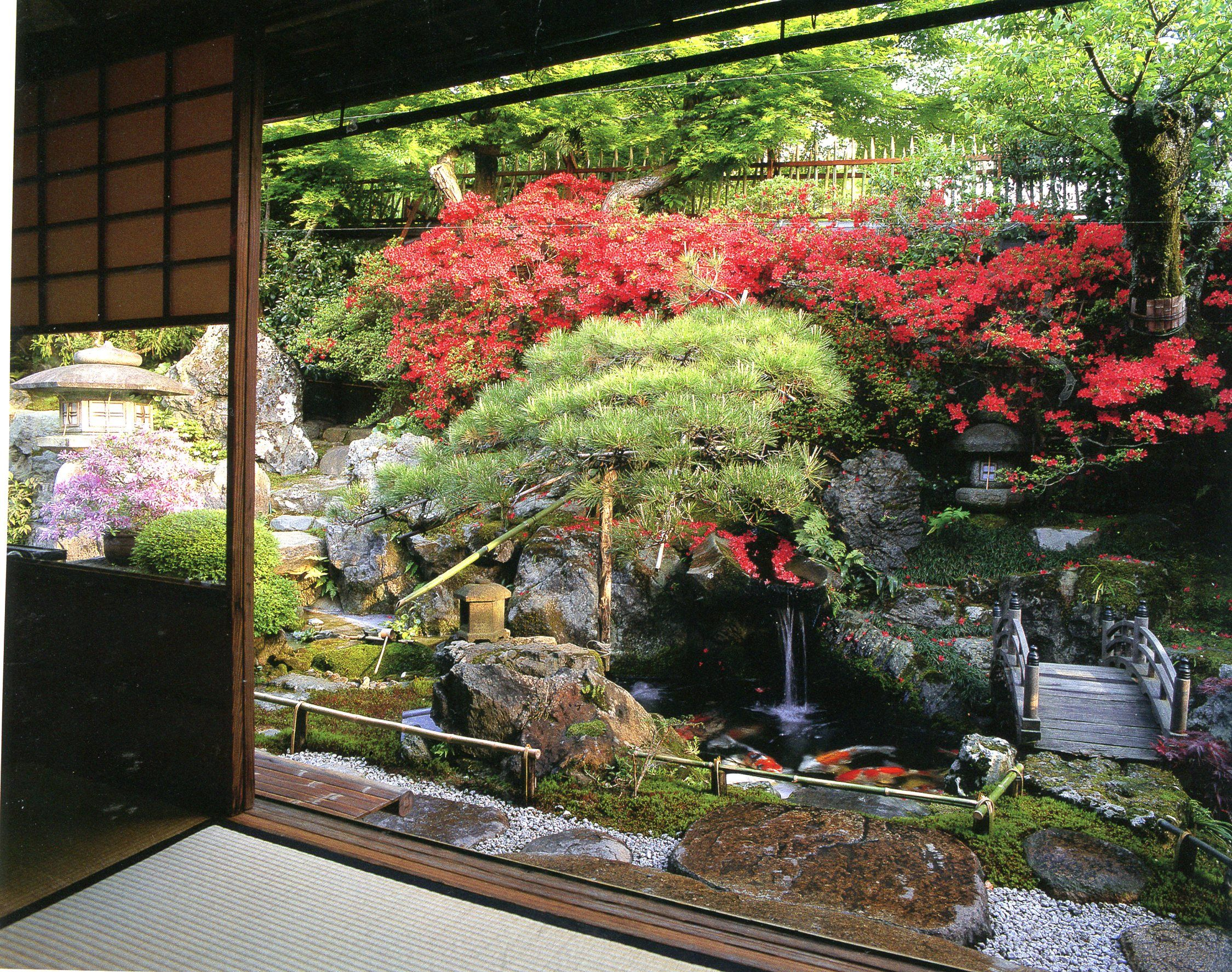 Rakusho Landscapes For Small Spaces Japanese Courtyard